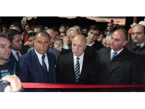 Erzurum'da Fatih Terim İzdihamı