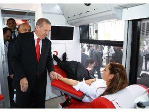 Cumhurbaşkanı Erdoğan'dan 'Kan' Mesajı