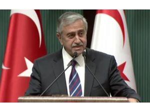 Kktc Cumhurbaşkanı'ndan ''Çözüm'' Mesajı