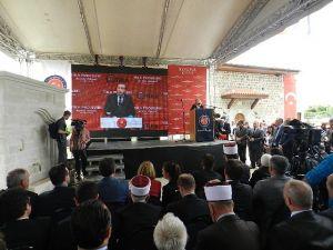 Cumhurbaşkanı O Caminin Açılışına Canlı Bağlantı İle Katıldı