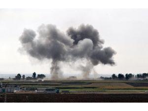 Sınırdaki Işid Mevzuları Bombalandı