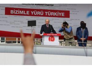 Bahçeli, Chp'nin Kalesinde Erdoğan'a Yüklendi