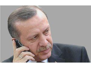 Erdoğan'dan Özel'e Geçmiş Olsun Telefonu