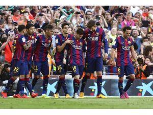 Barça'dan 25 Günde 25 Gol