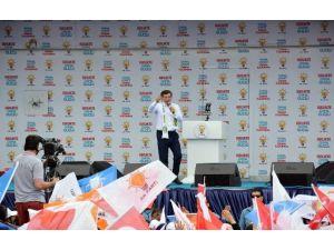 Davutoğlu: Orada Bayrağımız Sonsuza Kadar Dalgalanacak