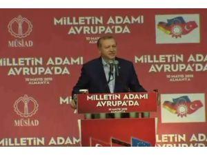 Erdoğan Almanya'dan Seslendi