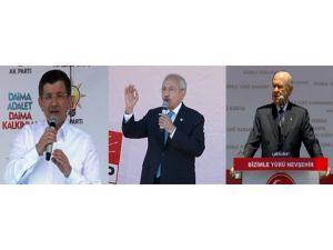 Üç Lider Üç Miting