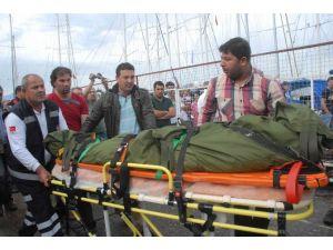 Gemi Saldırısında Ölen Kaptanın Cenazesi Getirildi