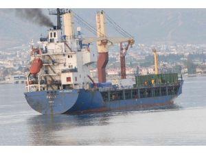 Libya'da Vurulan Türk Gemisi Fethiye'ye Ulaştı