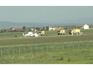 Avrupa Birliği'ne Ait Helikopter Düştü