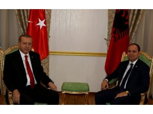 Erdoğan Arnavut Mevkidaşıyla Görüştü