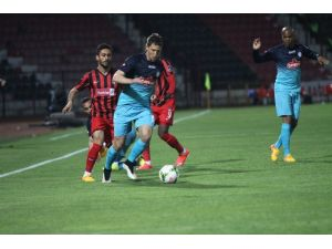 Çaykur Rizespor Gaziantepspor'u Mağlup Etti
