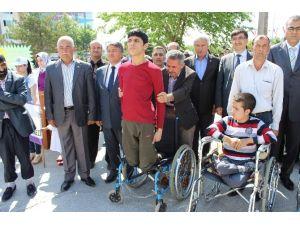 Engelli Gencin İstiklal Marşı Duyarlılığı