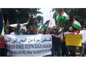 İsrail'de Yeni Hükümet Kurulurken İstanbul'da Protesto Vardı