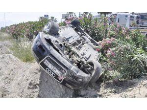 Bu Otomobilden Burnu Bile Kanamadan Çıktı
