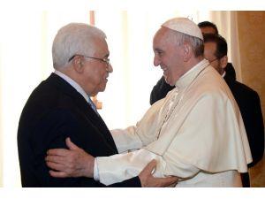 Papa Filistin Devlet Başkanı Abbas İle Görüştü