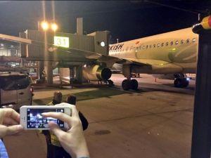 Thy Uçağı Körüğe Çarptı