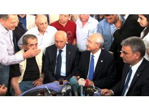 Kılıçdaroğlu Emeklilerle Çay İçti