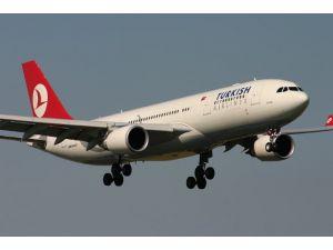 Thy Uçağı Teknik Arıza Nedeniyle Geri Döndü