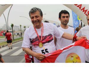 Mustafa Balbay Maratonu 73'üncü Tamamladı