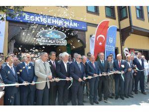 Eskişehir Hanı Butik Otel Oldu, Açılışı Müezzinoğlu Yaptı