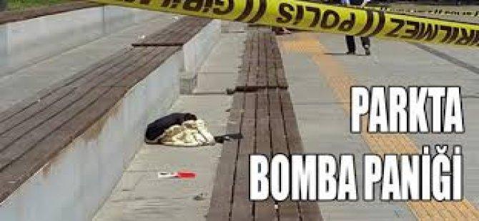 Parkta Bomba Paniği