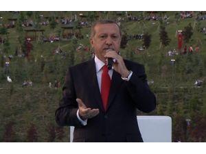 Erdoğan: Şiddet Sizin İşiniz