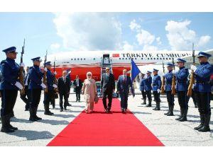 Cumhurbaşkanı Erdoğan Bosna-hersek'te