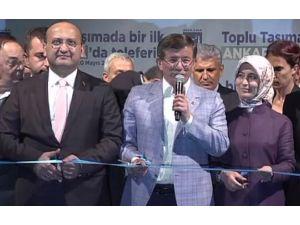 Teleferik Açılışını Yapan Başbakan'dan Müjde !