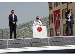 Erdoğan Şampiyon İlçede Konuştu