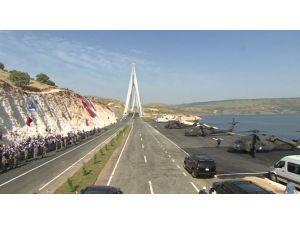 Türkiye'nin 3. Büyük Köprüsünü Cumhurbaşkanı Açtı