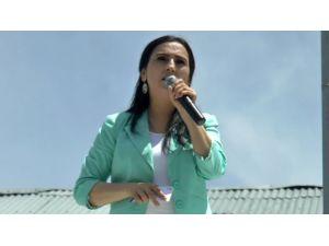 Figen Yüksekdağ Ardahan'da Konuştu