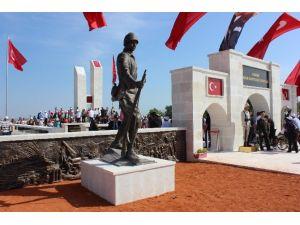 Türkiye'nin En Büyük İkinci Şehitliği Açıldı