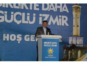 Davutoğlu İzmir'de Konuştu