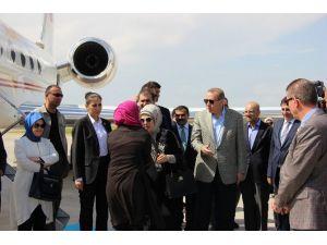 Erdoğan'ı Driftle Karşıladı