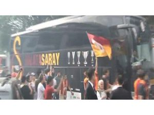 Galatasaray'a Coşkulu Uğurlama
