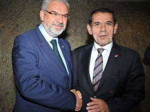 G.saray Ve Bursaspor Başkanlarından Dostluk Mesajı