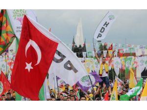 Alanda Abdullah Öcalan Posteri Ve Türk Bayrakları