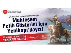 İstanbul'un Fethine Bin 800 Metrelik Dev Sahne
