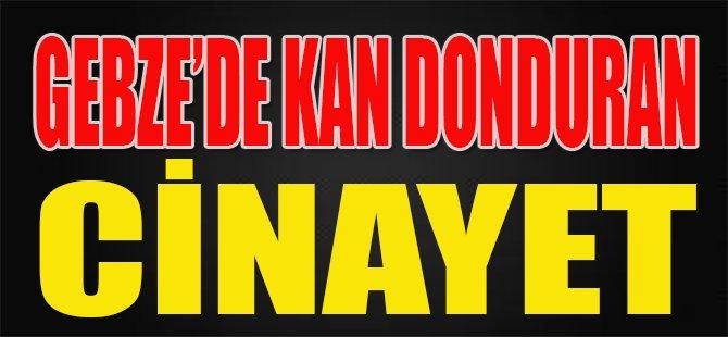 Gebze'de Kan Donduran Cinayet