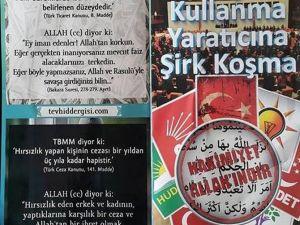 Bu Broşürler Diyarbakır'da Dağıtıldı