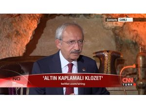 'Altın Kaplama Klozet' Polemiğinde Söz Kılıçdaroğlu'nun