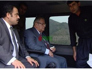 Talabani 3 Yıl Sonra Ortaya Çıktı