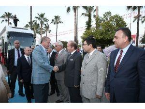 Erdoğan'ın Mersin Ziyareti