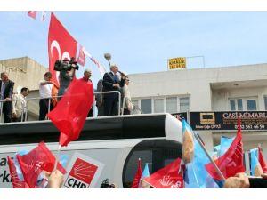 Chp Lideri İzmir Turuna Başladı