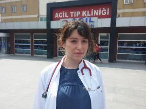 Hamile Doktoru Tehdide 5 Ay Hapis Cezası