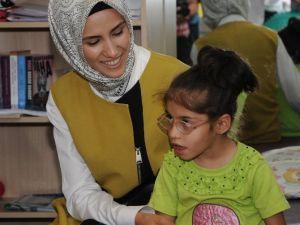 Sümeyye Erdoğan, Engelli Öğrencileri Ziyaret Etti