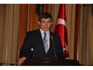 Davutoğlu'nun Propaganda Konuşması