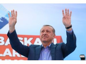 Erdoğan Ağrı'da Halka Hitap Etti