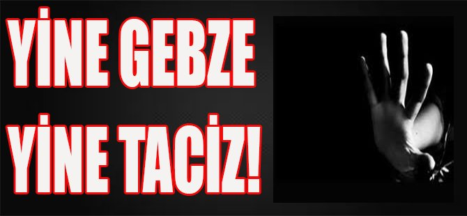Yine Gebze, Yine Taciz!